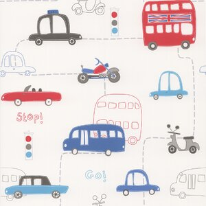 Kids World Moto London British Autos 33' x 20.5