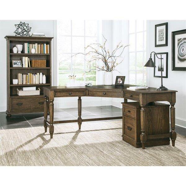 Calila 3 Piece L-Shape Desk Office Suite by Birch Lane™