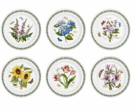Botanic Garden Dinner Plate (Set of 6) by Portmeirion