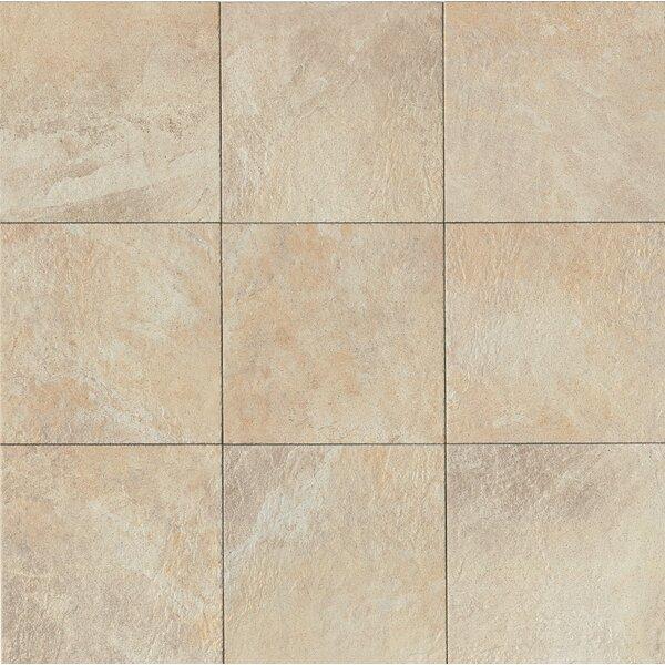 Rok 13 x 13 Porcelain Field Tile in Almond by Bedrosians