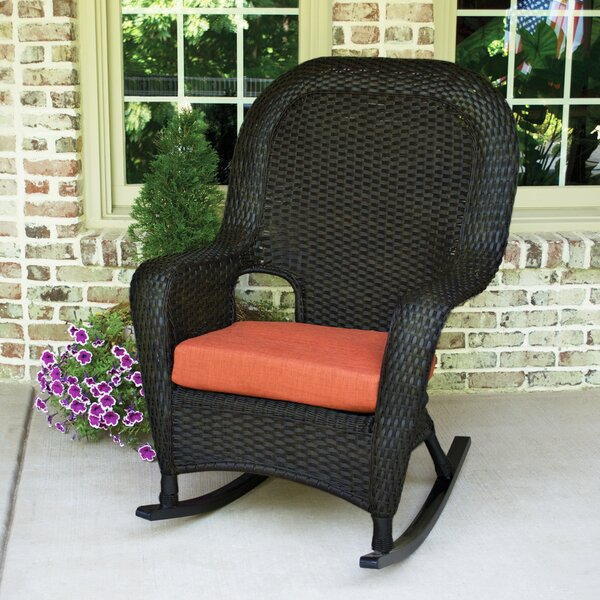 Fleischmann Rocking Chair with Cushions by Darby Home Co