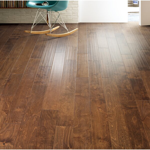 Bern 5 Engineered Birch Hardwood Flooring in Brown by Branton Flooring Collection