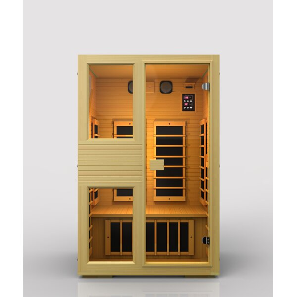 Ensi 2 Person FAR Infrared Sauna by JNH Lifestyles