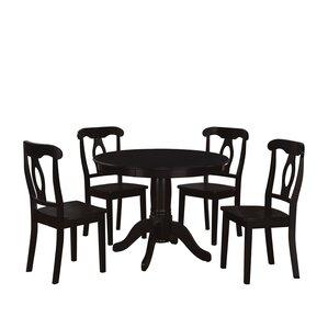 Black Wood Dining Room Set kitchen & dining room sets you'll love