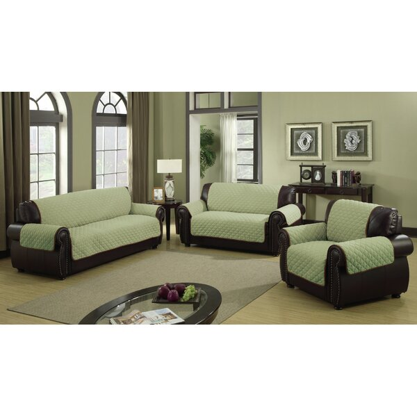 Furniture Protector Box Cushion Sofa Slipcover By Charlton Home
