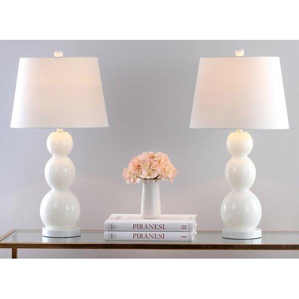 Kowalewski 26.5 Table Lamp (Set of 2) by Mercury Row