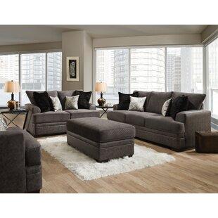 Latitude Run® Calexico Livingroom Set Mocha (Set of 3) by Latitude Run®
