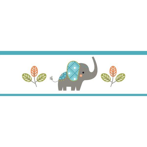 Mod Elephant Wall Border by Sweet Jojo Designs