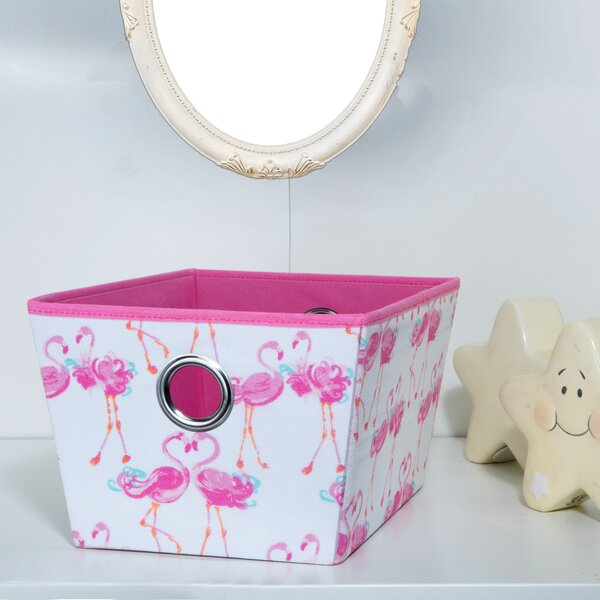 Kids Grommet Storage Fabric Bin by Laura Ashley Home