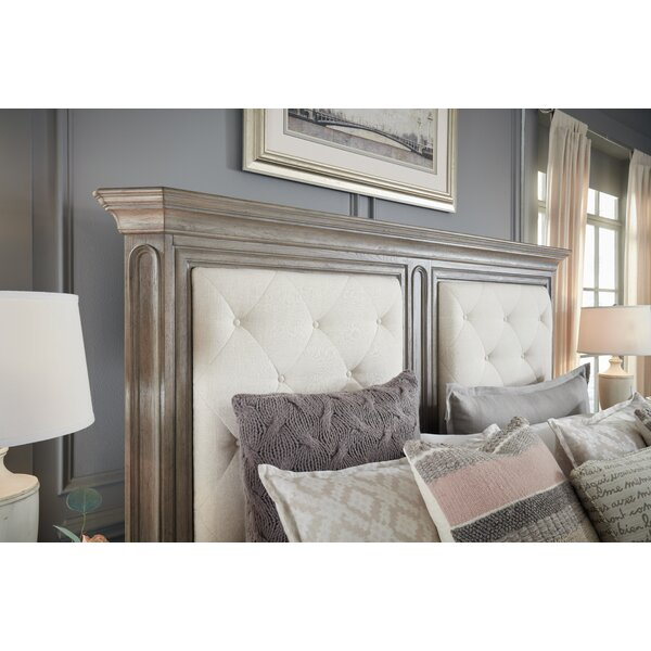 Thaxted Upholstered Panel Headboard by Darby Home Co