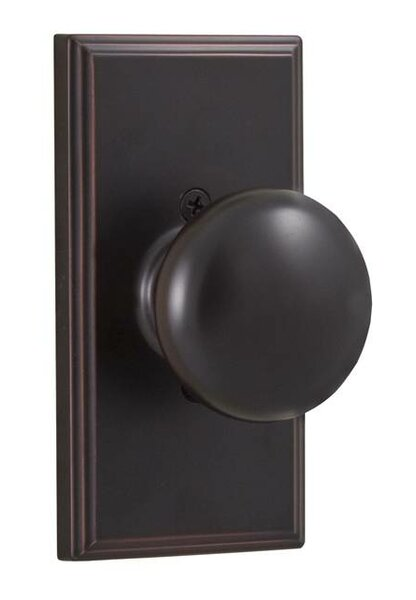 Impresa Single Dummy Door Knob by Weslock