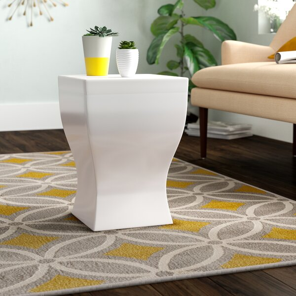 Brode Square Stool by Wade Logan