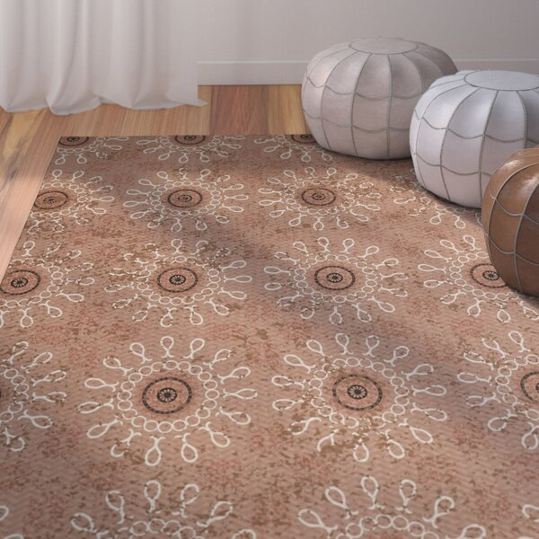 Soluri Taupe Area Rug by Bungalow Rose