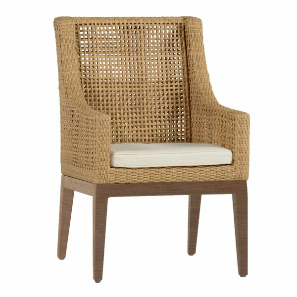Peninsula Patio Dining Chair with Cushion by Summer Classics