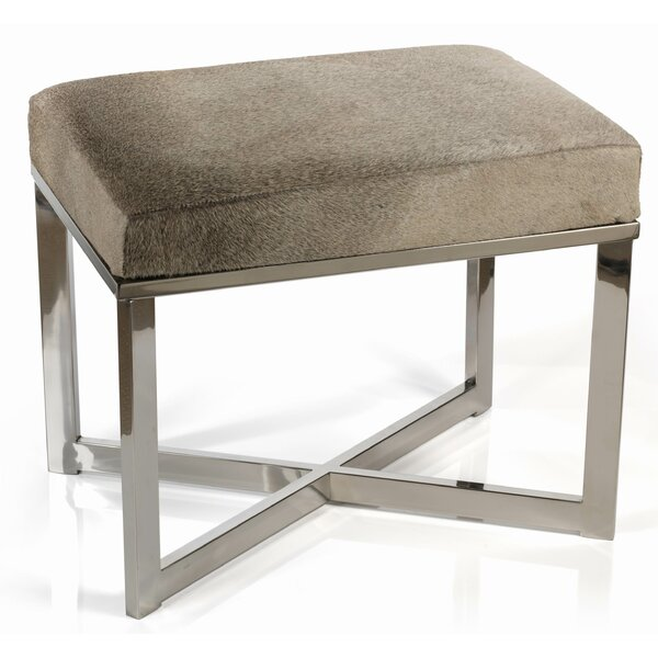 Berriman Accent Stool by Everly Quinn