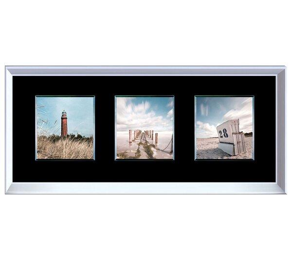 Coastal Trio Framed Photographic Print by Benjamin Parker Galleries