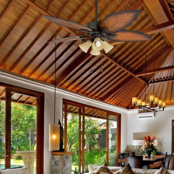 52 Elderfield 5 Blade Ceiling Fan by Bay Isle Home