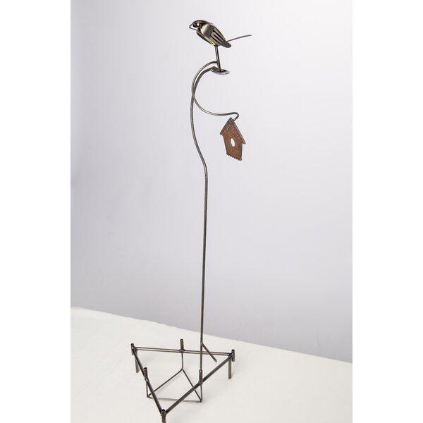 Diedrich Bird Garden Stake by August Grove