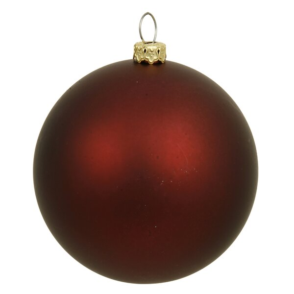 Red Christmas Ball Ornaments.Christmas Ball Ornaments You Ll Love In 2019 Wayfair