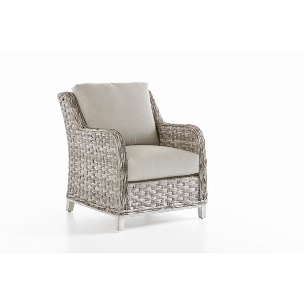 Cape Lookout Patio Chair With Cushion by South Sea Rattan