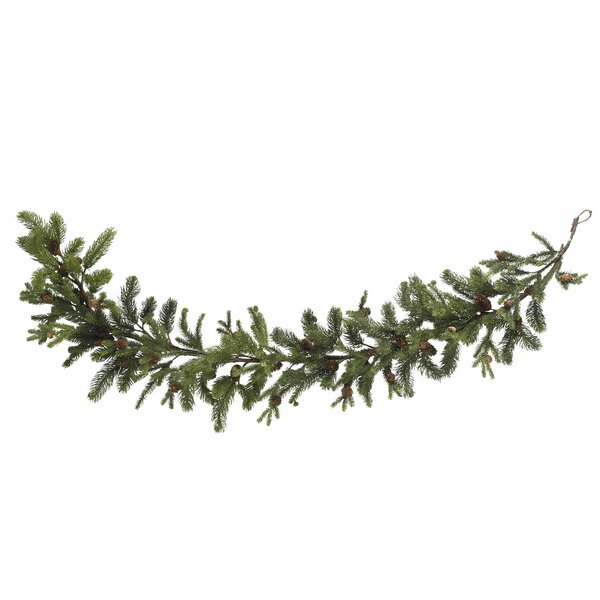 Pine and Pinecone Garland by Nearly Natural