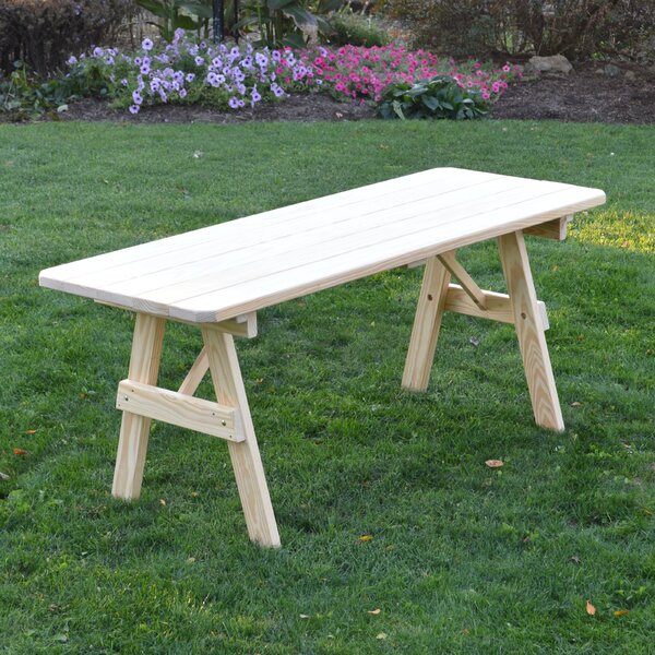 Sardinia Wooden Picnic Bench by Loon Peak