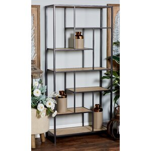 Schwanke Multi-Tiered Etagere Bookcase