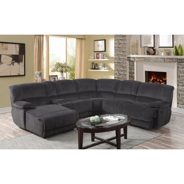 Winchelsea Reclining Sectional Collection By Ebern Designs 2019 Coupon