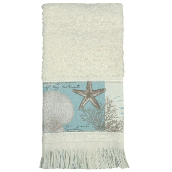Moonlight Terry Cloth Fingertip Towel by Bacova Guild