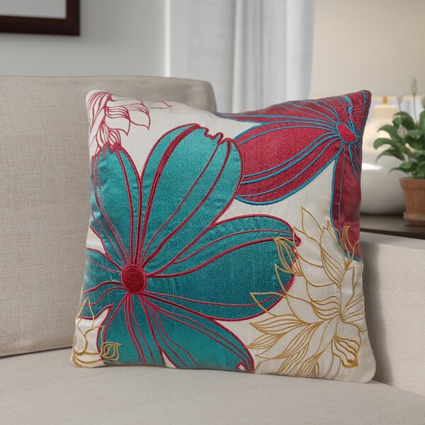 Armisen Floral Throw Pillow (Set of 2) by Andover Mills