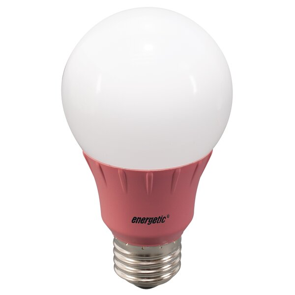 Pink Party Light Bulb by Energetic Lighting