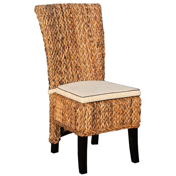 Wimberly Side Chair with Cushion by Highland Dunes