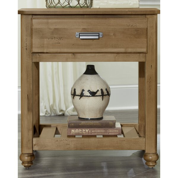 Gallager 1 Drawer Nightstand by August Grove