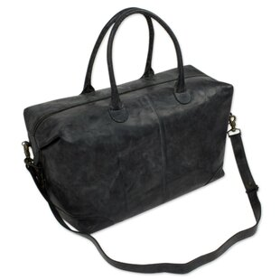 Traveler Leather Picnic Tote Bag