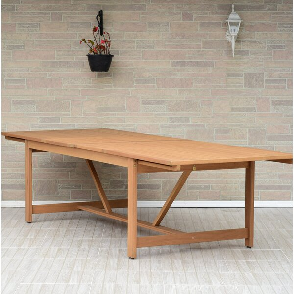 Brighton Extendable Wooden Dining Table by Sol 72 Outdoor