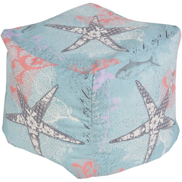 Lorren Park Pouf by Rosecliff Heights