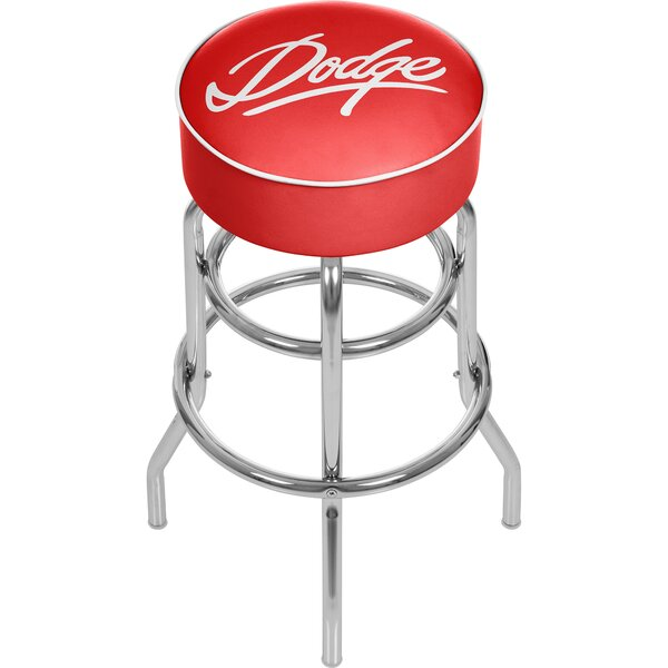 Dodge Signature 31 Swivel Bar Stool by Trademark Global