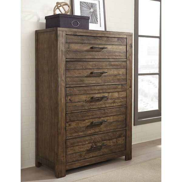 Emst 5 Drawer Chest by 17 Stories