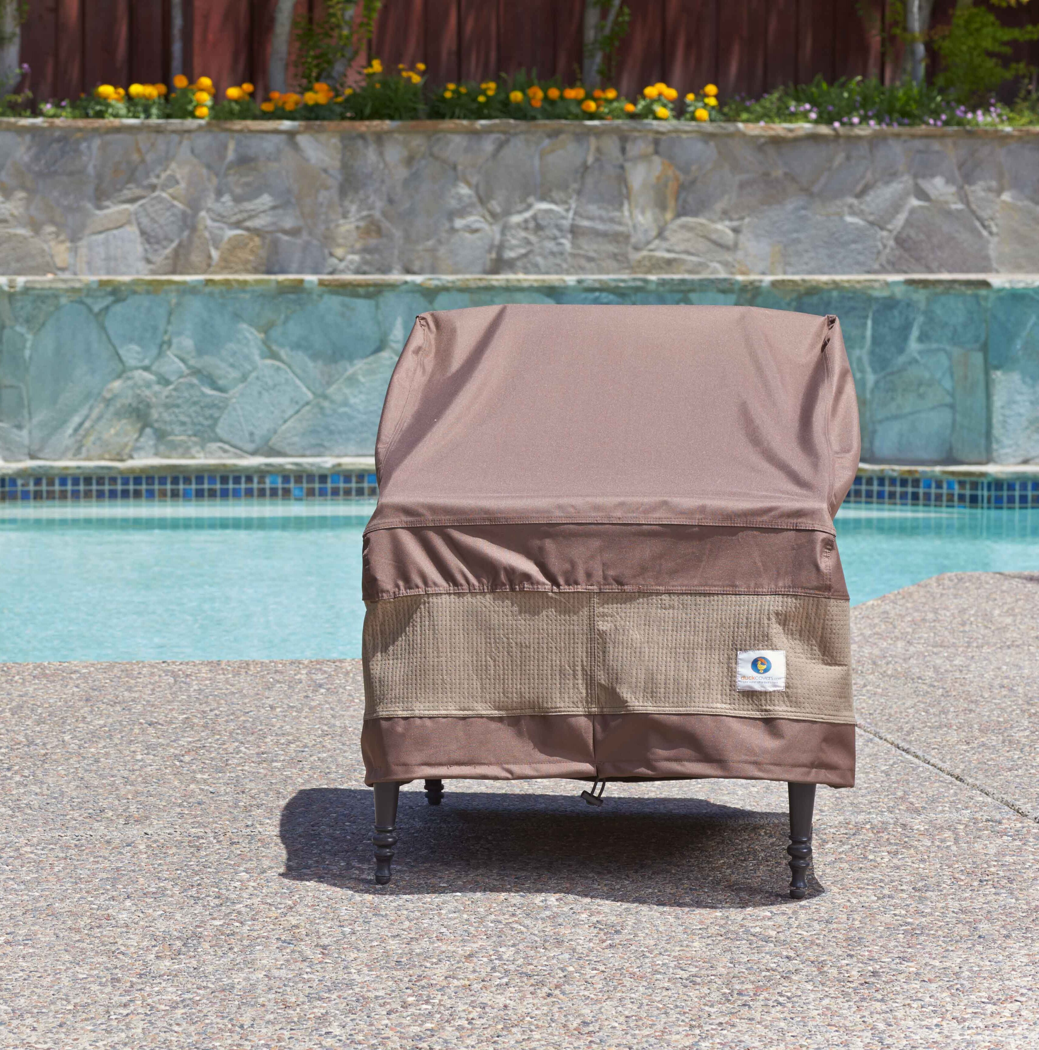 Freeport Park Patio Chair Cover with Buckle Fastener & Reviews