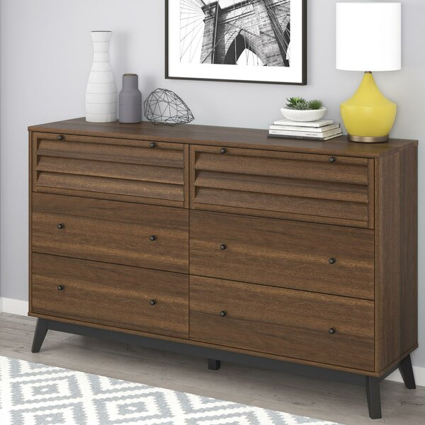 Dover 6 Drawer Double Dresser by Trent Austin Design