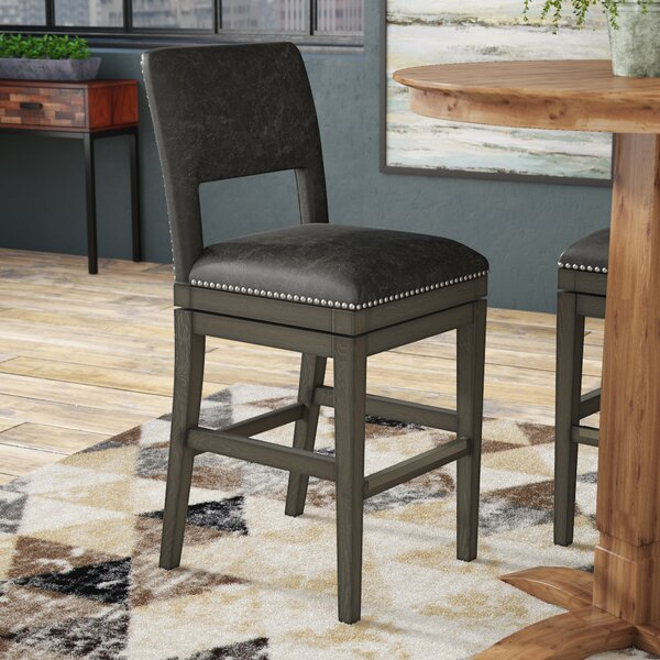 Attleborough 26 Swivel Bar Stool by Loon Peak