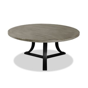 Louisa Modern Rounded Wood Dining Table by Gracie Oaks