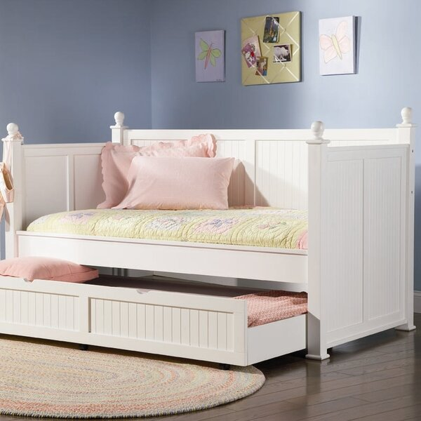 Pennrock Central Point Daybed with Trundle by Beachcrest Home