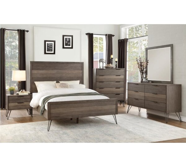 Borman 6 Drawer Double Dresser by Union Rustic