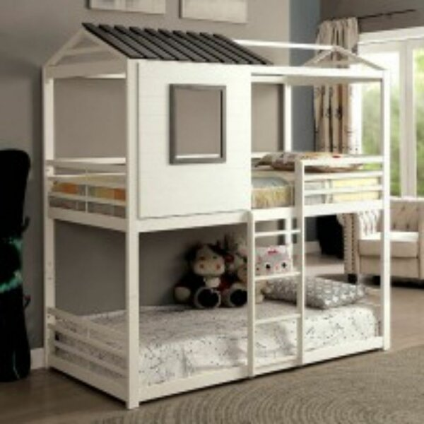 Beyers Stackable Twin Bunk Bed by Harriet Bee