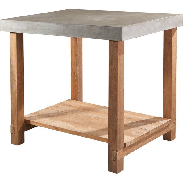 Perpetual Mykonos Gathering Teak Side Table by Seasonal Living