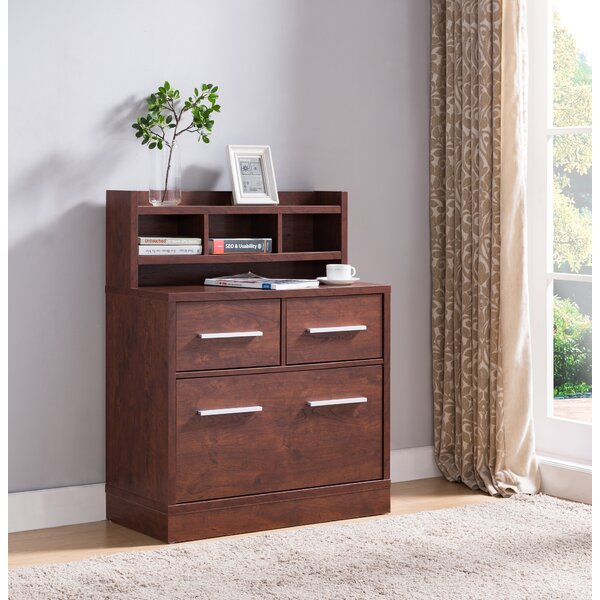 Digregorio 3-Drawer Lateral Filing Cabinet