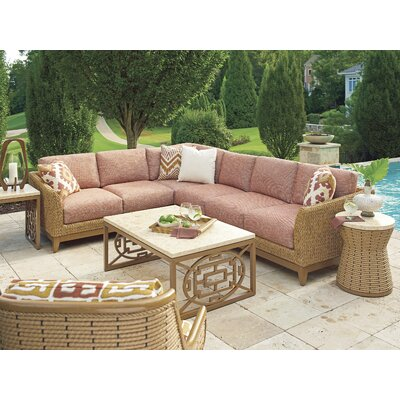Tommy Bahama Outdoorharbor Isle 5 Piece Deep Seating Group With Cushions Tommy Bahama Outdoor Dailymail