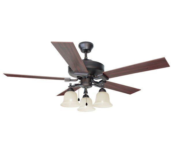 52 Ironwood 5-Blade Ceiling Fan by Design House