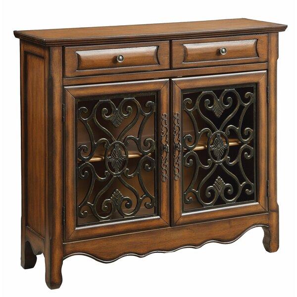 Abramowitz 2 Drawer 2 Door Accent Cabinet by Fleur De Lis Living Fleur De Lis Living